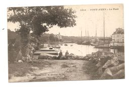 PONT-AVEN - Le Port - Hamonic éditeur - Pont Aven