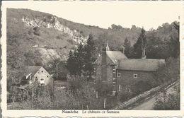Namèche.  Le Château De Samson.  (sur Commune De Maizeret) (scan Verso) - Andenne