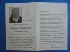 Zuster Martha De Munter  Oordegem / Sint-Truiden - Religion & Esotérisme