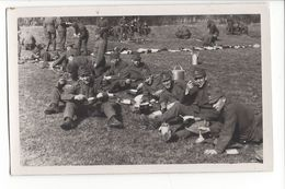 17213 - Armée Suisse 1938 Soldats à La Gamelle Ecole De Recrue Kloten - Casernes