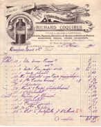CHARENTE - JARNAC - ENCRES STEPHENS , LIBRAIRIE , PAPETERIE , RELIURE & CARTONNAGE .... - RICHARD COQUIBUS - 1901 - France