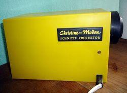 Schnittmuster Projektor Christine Moden 70er Jahre - Projektoren