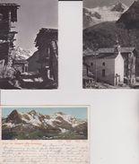 Suisse > VS Valais Ayer Chalets Rustiques Anniviers Besso Et Gebelhorn - VS Wallis