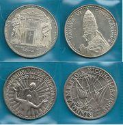 Vaticano 1975 - Anno Santo - 2 MEDAGLIE  - Confezione In Bustina - Altri