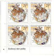** Block Of 4 - 698 Czech Republic Post Day/Mercury/Hermes 2011 - Mythologie