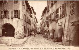 ANNECY  LES ARCADES DE LA RUE DE L ISLE - Annecy-le-Vieux