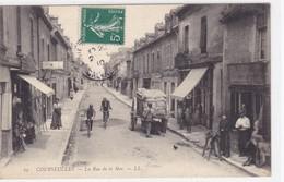 Calvados - Courseulles - La Rue De La Mer - Courseulles-sur-Mer