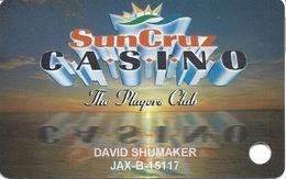 SunCruz - Casino Cruise Ship From Florida - Slot Card - Yellow Sunset - Casino Cards