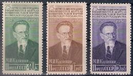 Russia 1950, Michel Nr 1515-17, MLH OG - 1923-1991 USSR