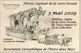 CPSM/gf (33)  FLOIRAC.  Centenaire De La Fête Des Vendanges. ..G319 - Francia