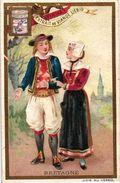 6 Cards Complete Set 281 Compagnie Liebig PARIS Circa1893 - Série  Lithographie - Costumes Régionaux De France - Liebig