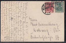DR AK Mif Minr.85II, 86II Kos Leipzig-Schleussig 27.4.20 - Deutschland
