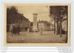 42 - MABLY - La Place Et Le Monuments Aux Morts - France