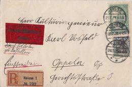DR Eilbote-R-Brief Mif Minr.104,113 Neisse 20.7.20 - Deutschland