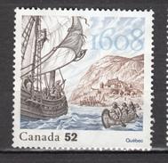 Canada, MNG, Québec, Bateau, Boat, Indiens D'amérique, Amerindian, émission Commune Avec France Joint Issue, Histoire - Bateaux