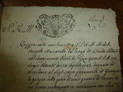 1785 Demande De Grâce : Soldat Condamné Par Contumace Pour S M M Michele Angelo Mascarello (grognard,Nizza (NICE)),etc - Manoscritti