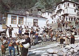 "Bulgaria - Shiroka Laka Smolyan Region - Music Group ""100 KABA Bagpipes"" - Printed 1984 - Music"