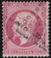 France   .    Yvert      .           24        .     O              .             Oblitéré - 1862 Napoléon III