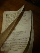 1772  Rare Lettre (filigrane) --> ROLUS-FRANCISCUS DE PELLISSIER DE SAINT FERREOL...etc - Manuscrits