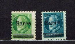 SAAR...1920...mh - Unused Stamps