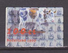 NVPH Netherlands Nederland Niederlande Pays Bas Holanda Nr 1747 Used ; Koe Cow La Vache Vaca, 1998 MUCH MORE COWS LOOK ! - Koeien