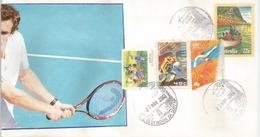 Timbre Tennis Australia, Sydney Olympics,  Lettre - Tennis