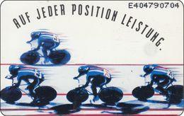 Germany - Niederland Phonecard Auf Jeder Position Leistung Cycling Radrennen - öffentlich