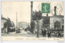 94 - ALFORTVILLE - Entree De L'Usine De L'Est Lumiere - Centrale Thermique Electricite - Alfortville