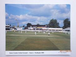 Postcard Essex County Cricket Ground [ Chelmsford ] Essex V Northants 1993 My Ref B21748 - Cricket