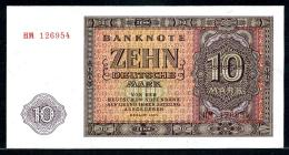355-Allemagne De L'Est Billet De 10 Mark 1955 HM126 Neuf - [ 6] 1949-1990 : GDR - German Dem. Rep.
