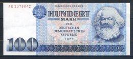 516-Allemagne De L'Est Billet De 100 Mark 1975 AE237 N° Fin - 100 Mark