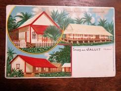 C.P.A. MARSHALL Gruss Aus JALUIT, Kaiserl. Deutsch. Landeshauptmannschaft. - Marshall Islands