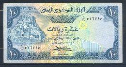 493-Yemen Billet De 10 Rials 1981 Sig.7 - Yémen