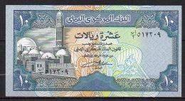 529-Yemen Billet De 10 Rials 1990 Sig.8 Neuf - Yémen