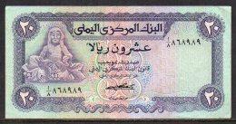 528-Yemen Billet De 20 Rials 1973 Sig.5 - Yémen