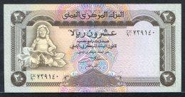 438-Yemen Billet De 20 Rials 1995 Neuf - Yémen