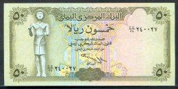 523-Yemen Billet De 50 Rials 1993 Neuf - Yémen
