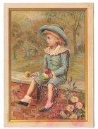 Victorian Trade Card Stove Tinware Frank J Murphy Instalment House Baltimore MD Glitter - Advertising