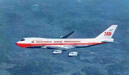 AVIONS / AEROPORT   /  L 23   / AIR PORTUGAL       /  BOEING 747    CPM / CPSM  9 X 14 - 1946-....: Moderne