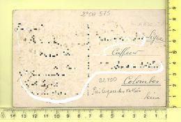 CARTE NOMINATIVE: SIGEAC Coiffeur à 92700 Colombes - Postcards