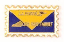Pin's Timbre - LA POSTE - CESA PARIS EVANGILE - Pin'story  - G692 - Mail Services