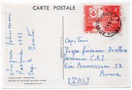 CONGO - SORCELLERIE AFRICAINE OEUVRE DU PEINTRE WALTER FRANK - ELISABETHVILLE/THEMATIC STAMP-U.P.U -1963 - Lubumbashi