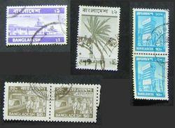 Bangladesh 1973 - 1978 Palace Of Justice Palm Building And Transport - Bangladesh