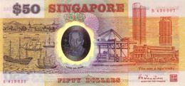 * SINGAPORE 50 DOLLARS ND (1990) P-31a UNC [SG128a] - Singapore