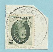 Tasmania - Circular Post Office Postmark - Blue Rocks - Tas 545 - 1853-1912 Tasmania