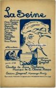 ANARCHIE CAF CONC PARTITION LA SEINE CLOEREC-MAUPAS (MUSE ROUGE) MARGUERITE GREYVAL LINE DEBERRE...ILL BARBEY ? - Army & War