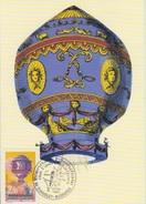 Biénnale Mondiale Aérostation, Chambley 30 Juillet 99, Cachet Du Bureau Temporaire Sur CP Ballon Pilâtre De Rozier - Francia