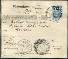 1925 Latvia Parvedums Pa Pastu Salacgriva - Strenci - Latvia