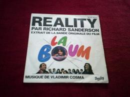 RICHARD SANDERSON  REALITY °°  BO  DU FILM  LA BOUM - Soundtracks, Film Music