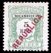 !■■■■■ds■■ Mozambique Postage Due 1916 AF#21* Local Ovrprt 5 Réis (x1166) - Mozambique